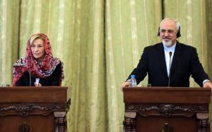 جواد ظریف و اما نینو وزیر خارجه ایتالیا