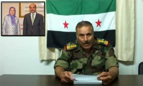 فرماندهي مشترك ارتش آزاد سوریه: ملاقات احمد جربا و مریم رجوی گامی بزرگ بر علیه رژیم ولایت فقیه است