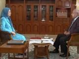 متن کامل مصاحبه ی جدید خانم مریم رجوی با برنامه «نقطة نظام» در تلویزیون جهانی العربیه