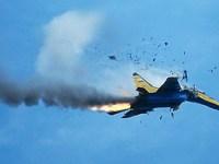 اسرائیل یک جنگنده ی نظامی سوریه را مورد هدف قرار داده و سرنگون کرد