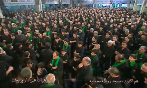 فیلم های نوحه خوانی سیاسی و ضد حکومتی در شهر یزد و کمپ لیبرتی + لینکهای دانلود