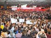 گزارش تصویری از بزرگترین گردهمایی یاران مقاومت ایران در پاریس 1394