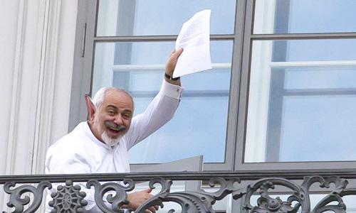 دیدار ظریف با سناتور آمریکایی توسط دفتر رژیم  در سازمان ملل تایید شد