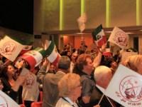 مراسم 50همین سالگرد تاسیس سازمان مجاهدین خلق در استکهلم- تصاویر