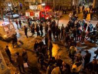 شعار مرگ بر گرانی در  دومین روز  اعتصاب و اعتراض در بازار کفاشان تهران