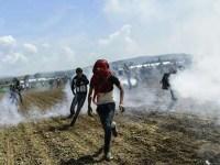 حمله پلیس مقدونیه با گاز اشک آور، گاز فلفل و گلوله های پلاستیکی علیه پناهجویان
