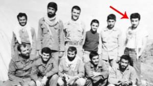تصویری از پاسدار عباس عراقچی در جنگ 8 ساله ضد ایران و ایرانی