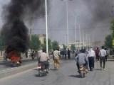فیلم: حداقل «یک کشته و ۳۰ زخمی» در درگیریهای بلداجی