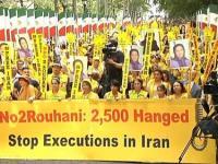 فیلم – تظاهرات بزرگ یاران مقاومت در نیویورک بر علیه حضور آخوند روحانی در آمریکا