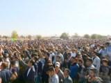 فیلم – تظاهرات ضد حکومتی دهها هزار نفره مردم در پاسارگاد