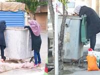 زنان زباله گرد، ارمغان نظام ضد ایرانی جمهوری اسلامی + عکس