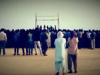 اعدام چهار جوان در قشم در ملاء عام