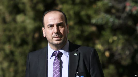 رییس هیات مخالفان حکومت اسد: ایران مانع اصلی هرگونه توافق سیاسی است