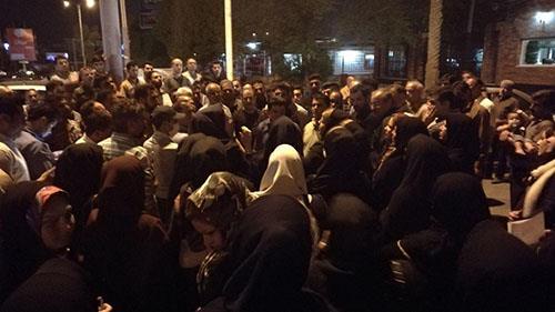 تظاهرات غارتشدگان در اهواز و درگیری با مأموران سرکوبگر + فیلم