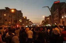 تصاویری از جو نظامی حاکم بر ایران و ادامه تظاهرات
