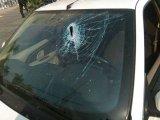 حمله به خودروی  نماینده سبزوار در مقابل مجلس