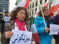 یوتبوری: آکسیون در حمایت از اعتراضهای مردمی در ایران + عکس و فیلم