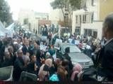 تجمع  سراسری بازنشستگان فرهنگی در مقابل سازمان برنامه و بودجه