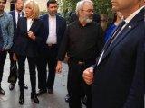  بازدید همسر ماکرون از یک مسجد ایرانی