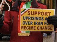 حمایت از قیام کارگران ایران در شهر بوروس (سوئد)