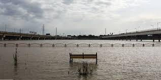 شهردار اهواز:  ایستگاه پمپاژ آبیاری فضای سبز زیر آب رفته