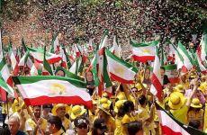 تظاهرات در حمایت از مردم و مقاومت ایران در واشینگتن