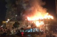 ویدیو؛ اداره اطلاعات جهرم در آتش سوخت