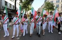 ویدئو: تظاهرات بزرگ ایرانیان در همبستگی با مردم و مقاومت ایران