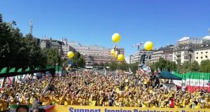 تظاهرات بزرگ ایرانیان در استکهلم