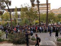 """تجمع دانشجویان امیرکبیر در اعتراض به  """"پولی سازی اموزش"""""""