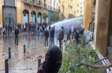 درگیری های شدید میان معترضان و نیروهای امنیتی در لبنان