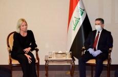 دیدار عدنان الزرفی با نماینده سازمان ملل در عراق