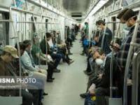 میزان روزانه مسافران مترو از مرز ۸۰۰ هزار نفر عبور کرده است