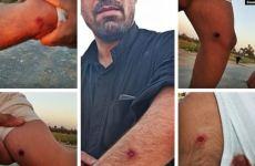 درگیری خشونتآمیز وتیراندازی سپاه سرکوب با مردم روستای ابوالفضل در اهواز