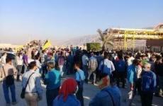 اعتصاب کارگران پالایشگاه لامرد فارس در اعتراض به حقوق معوقه