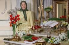 پیام نوروزی مریم رجوی: تیک تاک تحویل سال، صدای پای قیامکنندگان برای سرنگونی استبداد مذهبی است