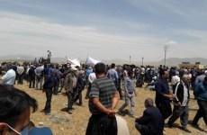 اعتراض کشاورزان در منطقه چادگان، مدیریت حقابه را به خودمان بدهید