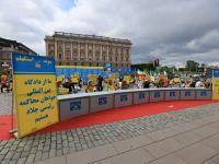 گزارشی تصویری از اجلاس جهانی ایران آزاد ۲۰۲۱ در استکهلم