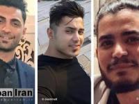 سه زندانی   آبان۹۸ به ۲۵ سال و یک روز زندان محکوم شدهاند