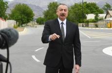 علیاف:ورود کامیونهای غیرقانونی رژیم به  قره باغ و مانور نظامی در مرز های ما!!!!