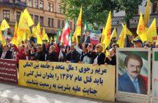 اعتراضات علیه شرکت رئیسی در مجمع عمومی سازمان ملل متحد در سراسر جهان