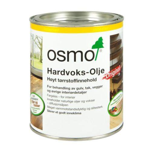 OSMO HARDVOKSOLJE 3040 HVIT 0,75LTR