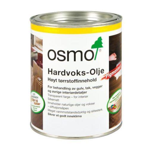 OSMO HARDVOKSOLJE 3067 LYS GRÅ 0,75LTR