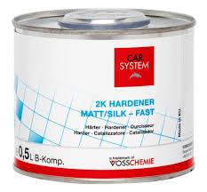 2K HARDNER TIL MATT/SILK  0,5L