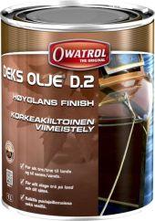 OWATROL DEKS OLJE D.2 1L