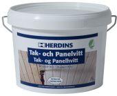 HERDINS TAK- & PANELHVITT EKSTRAHVIT 3L