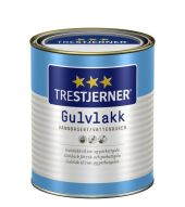 TRESTJERNER GULVLAKK VANNBASERT HALVBLANK 0,75L