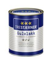 TRESTJERNER GULVLAKK OLJEBASERT SILKEMATT 0,75L