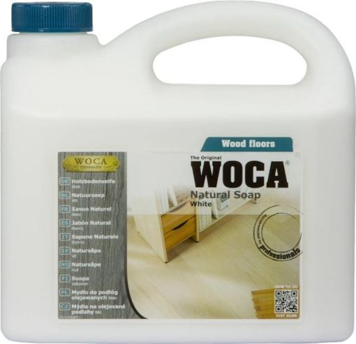 WOCA NATURAL WHITE SOAP 2,5L