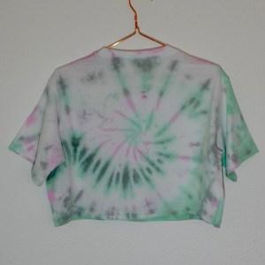 Batik / Tie-Dye Crop Top Caterpillar – Handmade